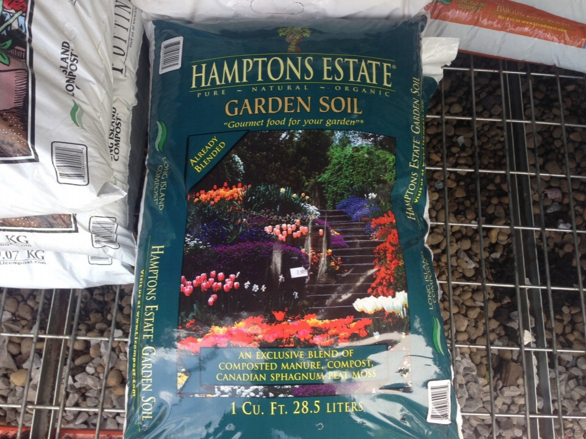 Hampton Estate Garden soil