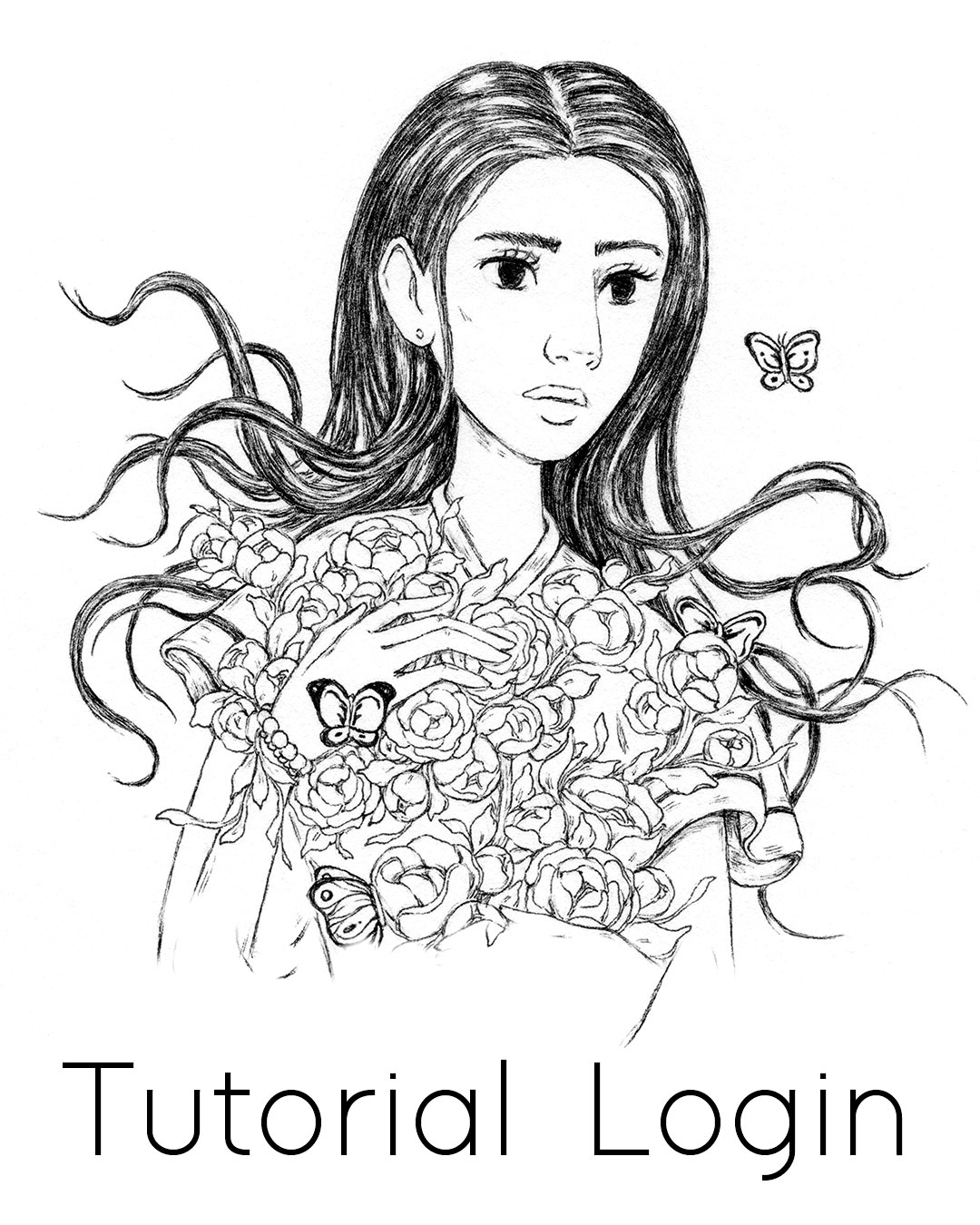How to Draw Hair Tutorial, Step by Step Process for drawing hairstyles from imagination #tutorial #drawing #hair