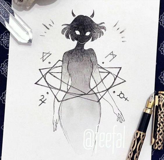 Inktober Art Inspiration & Ideas by Feefal