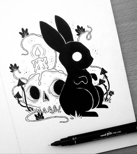 Inktober Art Inspiration & Ideas by Behemot