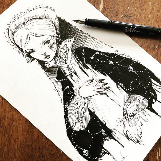 Inktober Art Inspiration & Ideas by Missupacey