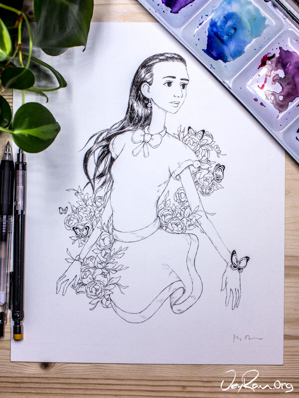 Ballpoint Pen Art by JeyRam. I'm an artist from Toronto that specializes in simple and elegant ink drawing to create great wall art and home decor #inktober #inkart #originalart #inktober2019