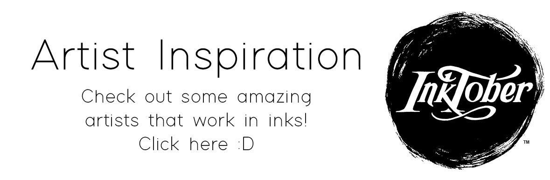 Inktober 2019 Inspiration & Ideas