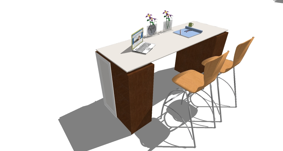 SketchUp Models | System furniture typical