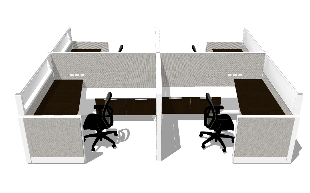 6X7 Systems furniture | Integration Partners