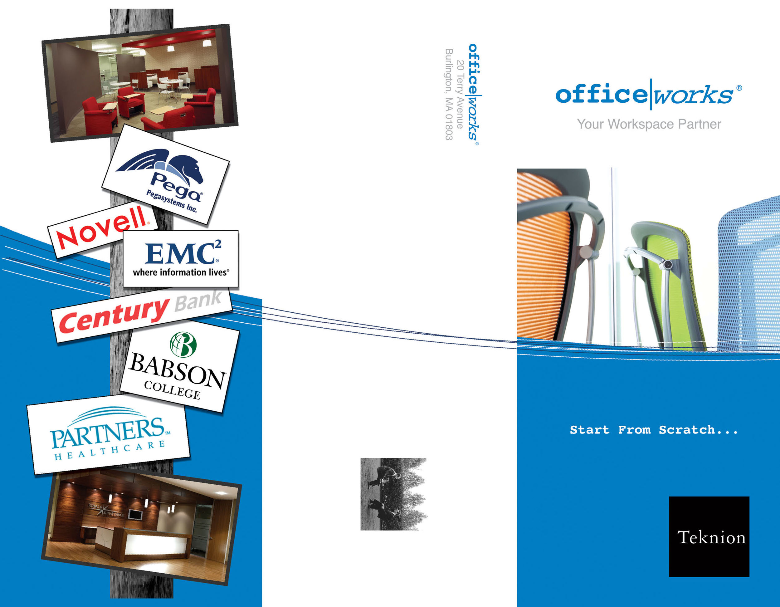 Tri-fold brochure outside