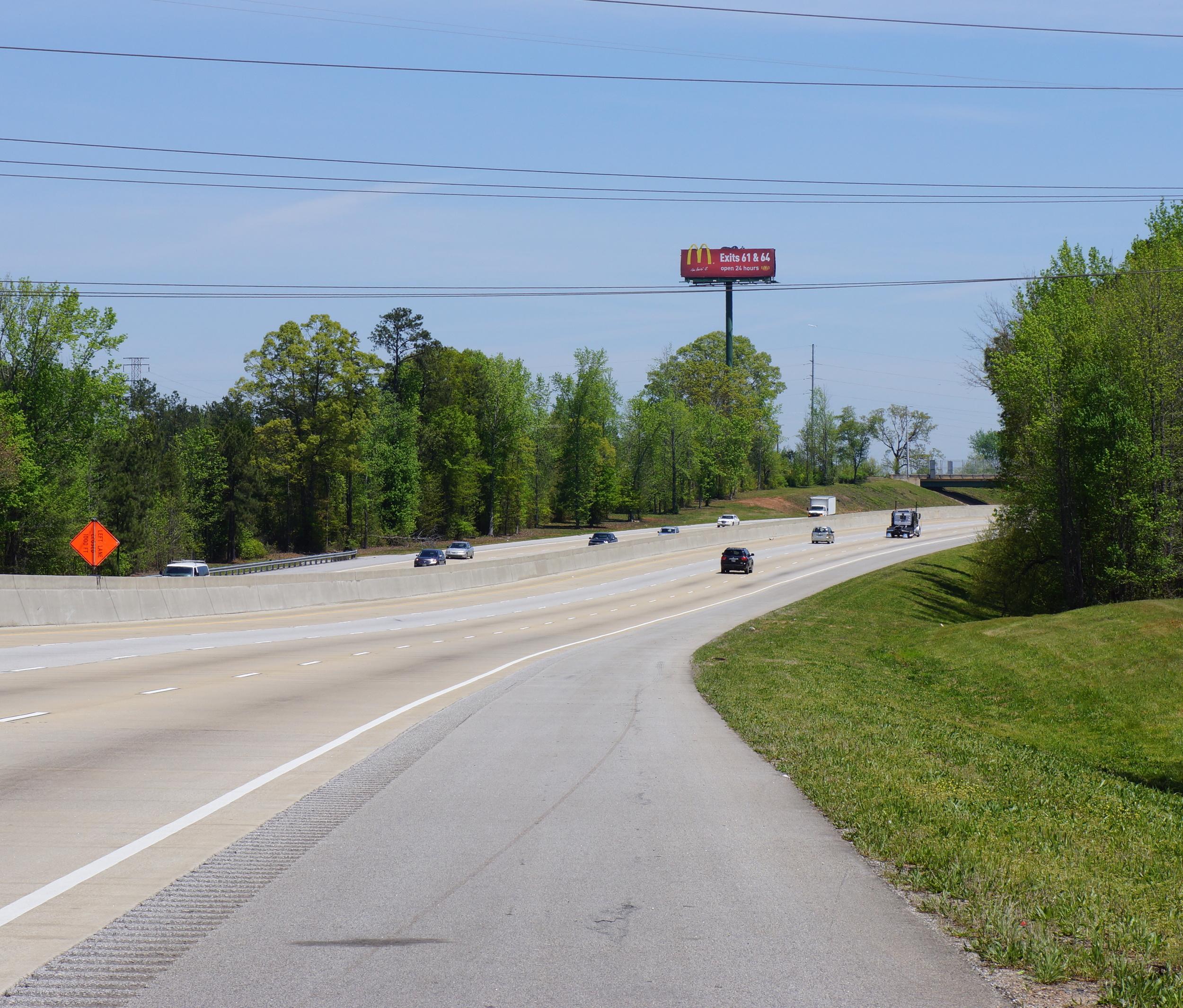 South of Johnson North bound 1 4:2014.JPG