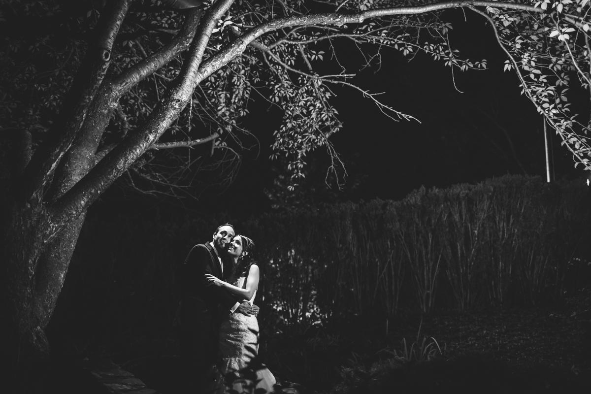 westbury-manor-fall-wedding-photography-black-and-white-night