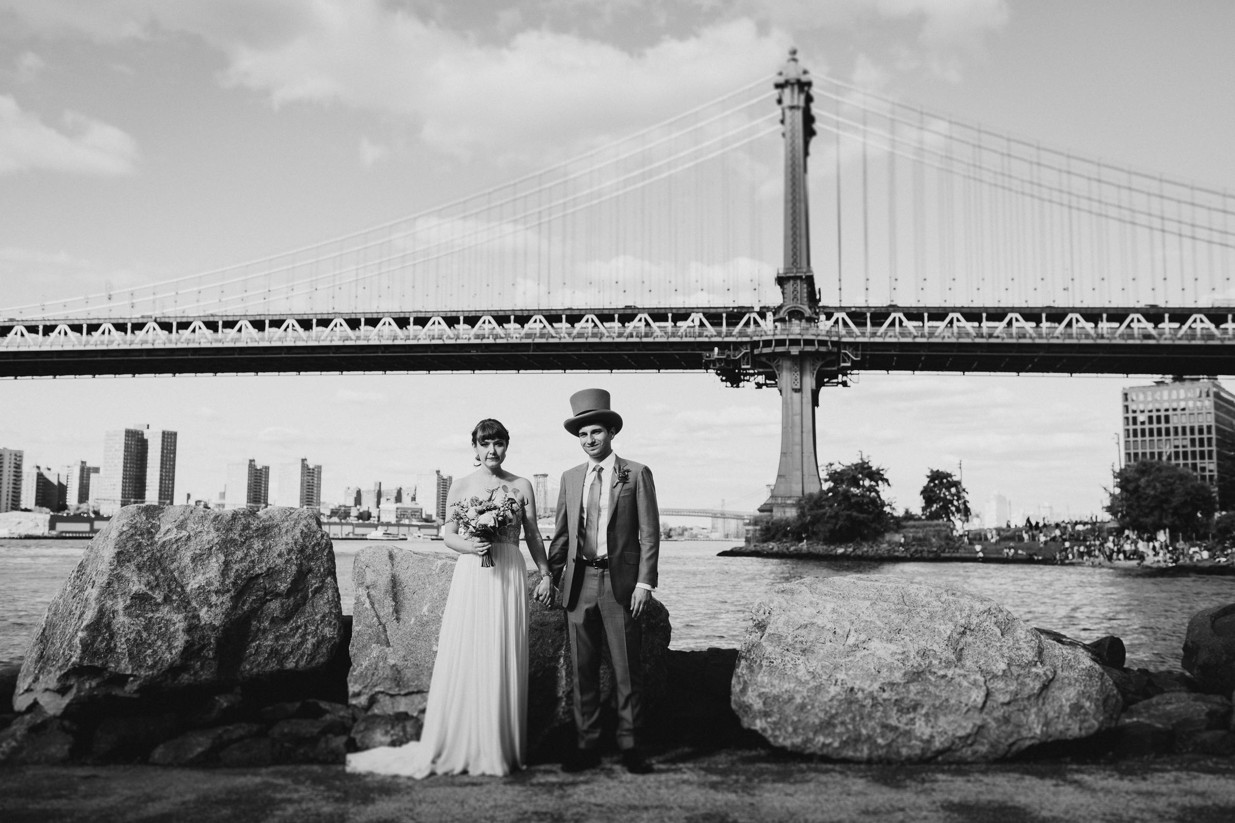 Dinosaur-Inspired-Brooklyn-Wedding-26-Bridge-New-York-Documentary-Wedding-Photographer-30.jpg