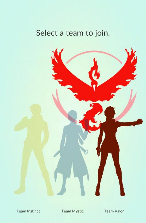 Team Valor Pokemon