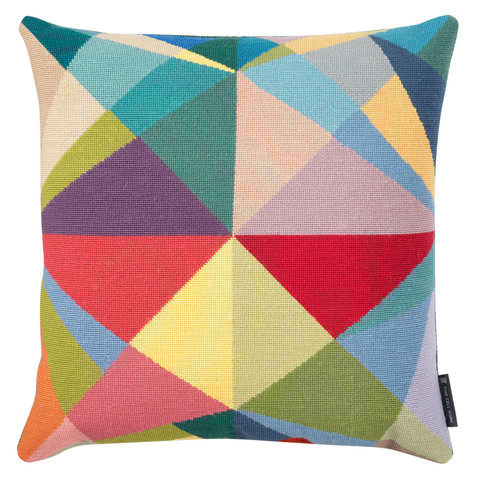 Fine Cell Work' s beautiful, geometric cushions