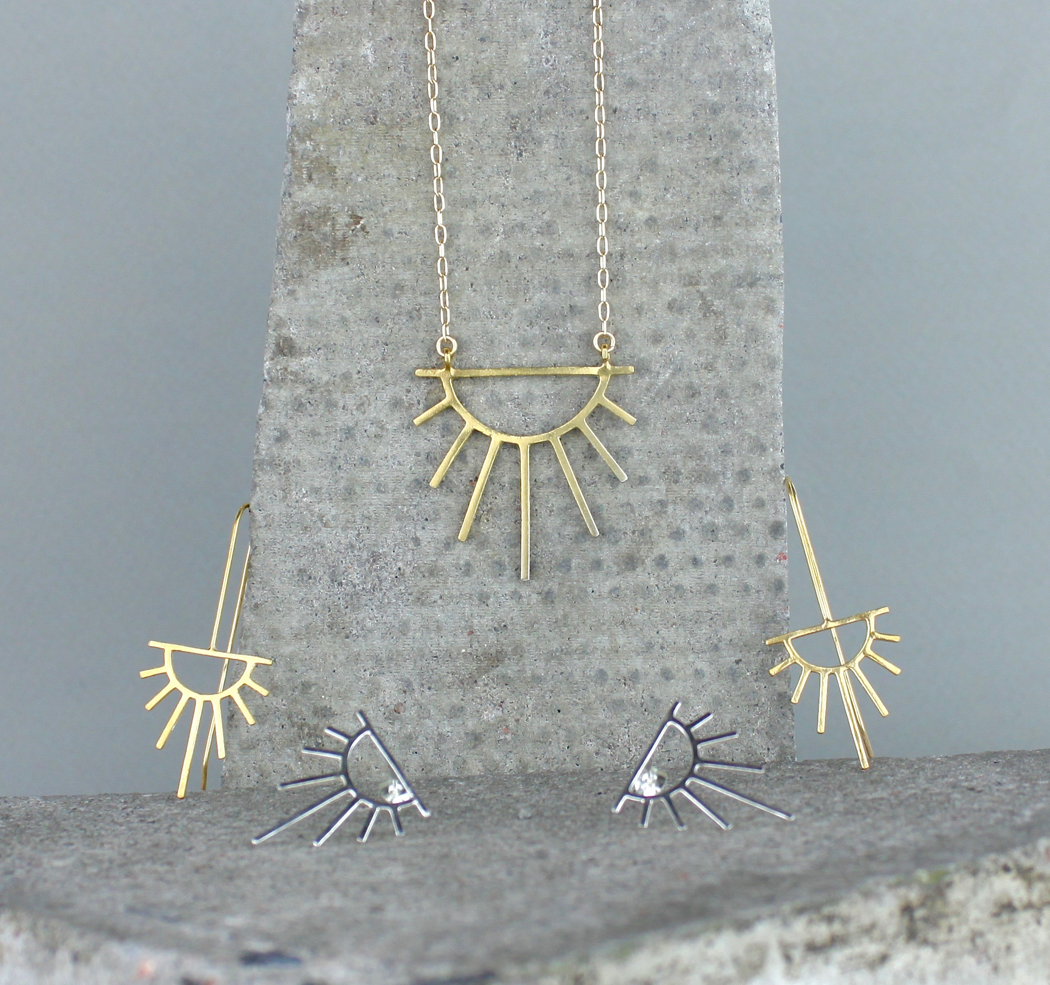 Some pieces from my  Sunburst  collection