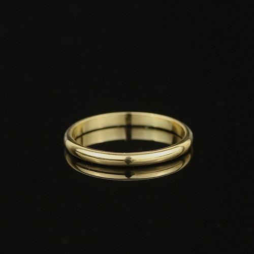 Womens Wedding Rings.Simple Recycled 18ct Gold Slim Half Round Women S Wedding Ring Marcia Vidal