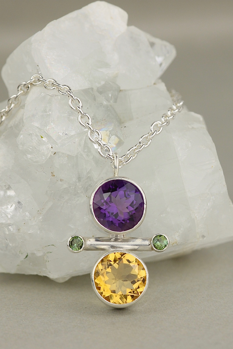 amethyst citrine green tourmaline yin yang necklace.jpg