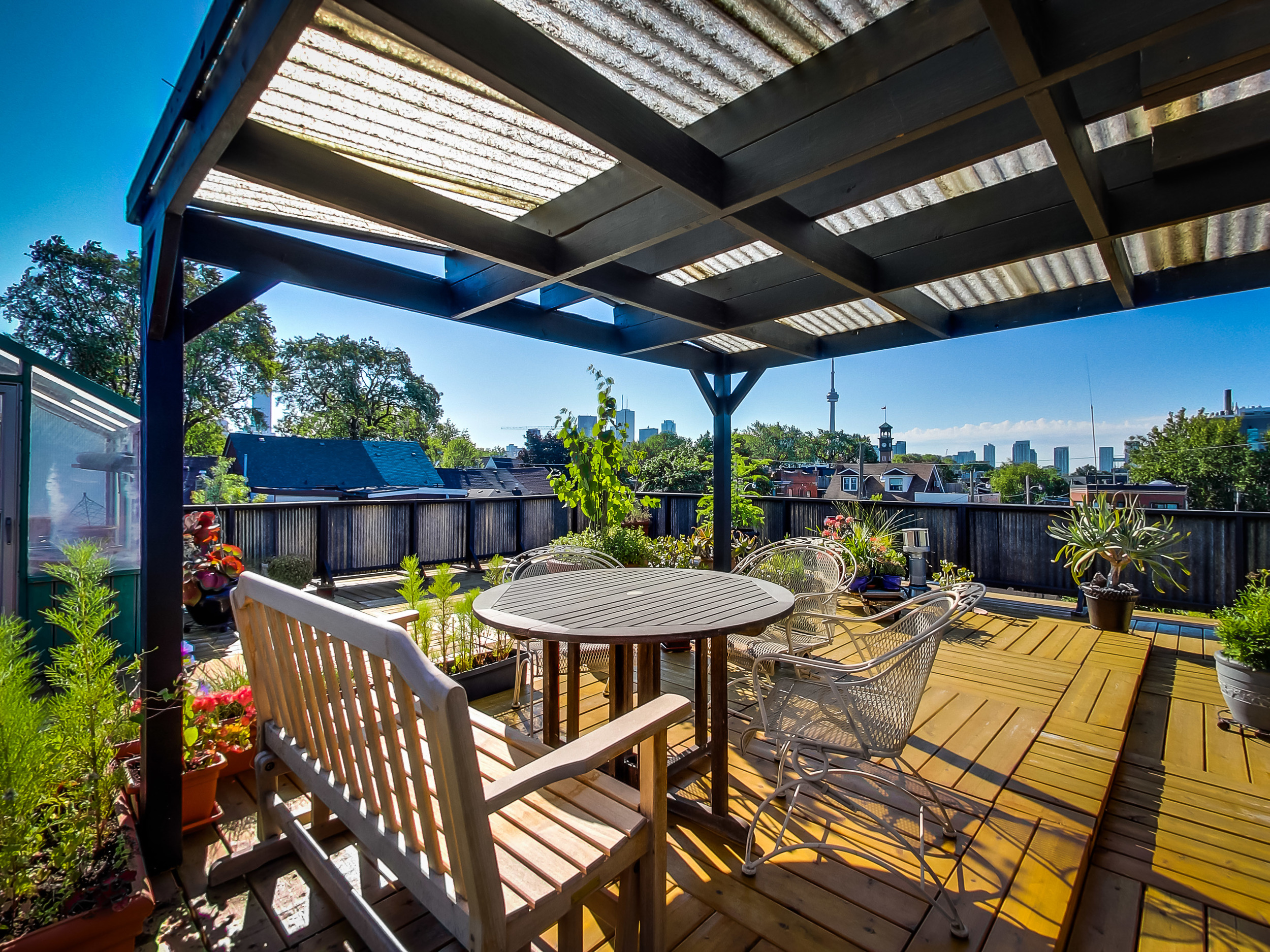 30'x30' Roof Terrace
