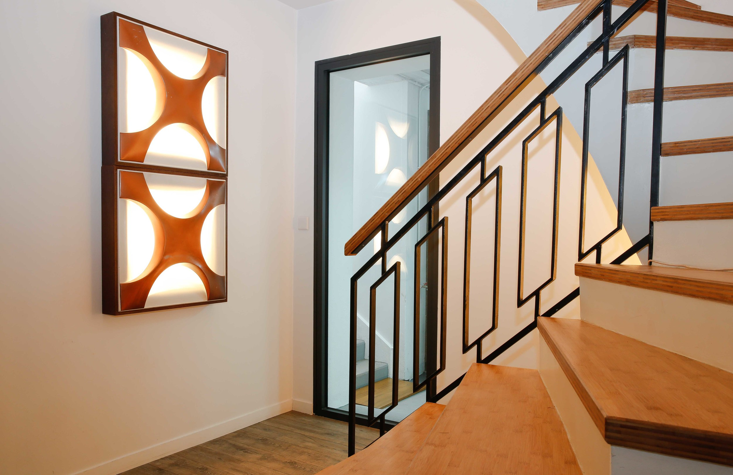 70's Wall Light by Dieter Witte & Rolf Kruger
