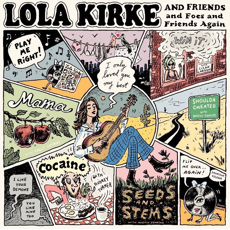 Lola Kirke •  Friends and Foes and Friends Again  2019  Mixer
