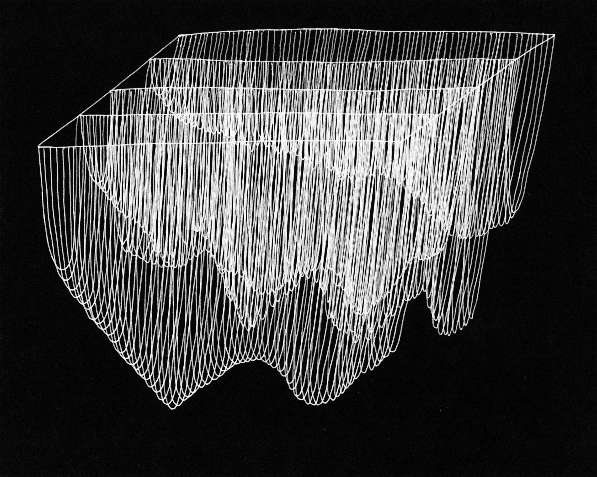 Series of Catenaries on Number Grid Number 1