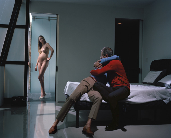 """Philip-Lorca diCorcia, Cain and Abel, 2013, ink-jet print, 39 1/2 x 49""""."""