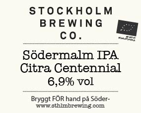 For our latest Södermalm IPA we combined Centennial with the modern classic Citra to make a zesty fresh summery thirst quencher