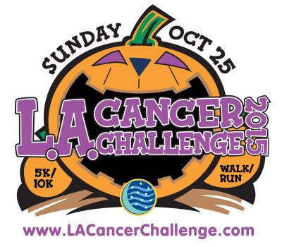 October 25, 2015 marks the 18th Annual LA Cancer Challenge 5K/10K Run/Walk (LACC) and Kids Can Cure Fun Run held at the Warner Center Park in Woodland Hills. So Cal's best Halloween-themed fitness event includes a Fit Family Expo with more than 60 outdoor exhibitor booths, activity tents, a stage with a huge video screen, a Kids Zone, and an adult costume contest, kids costume parade and more creating a fun-filled day for all!  For more information  click here