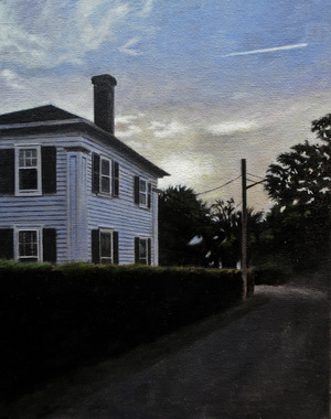 East End Provincetown, oil on panel, 14x11 inches