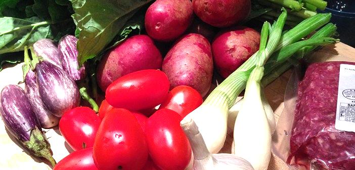 Seasonal Chef, Farmers Market ingredients