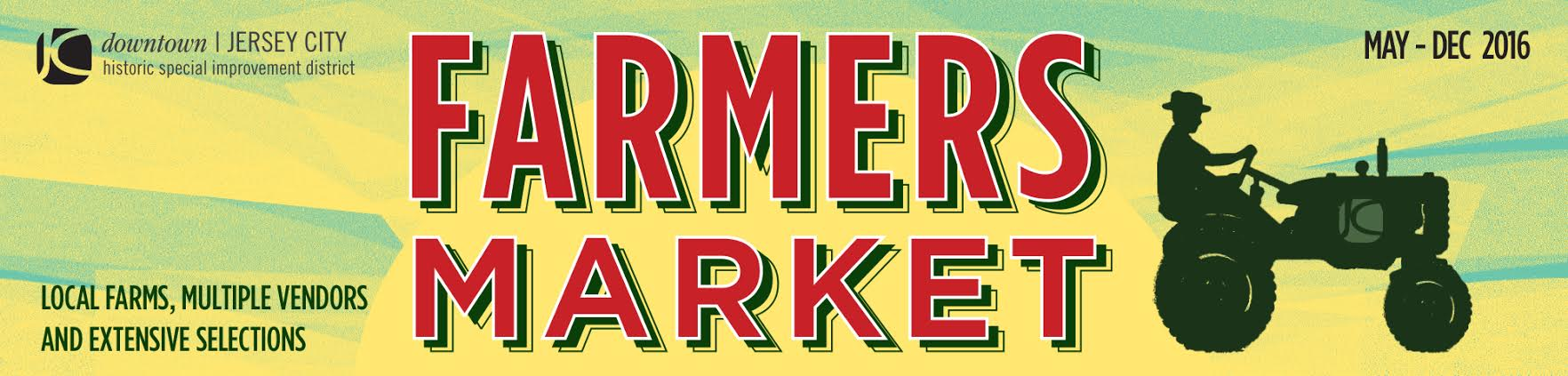 HISTORIC DOWNTOWN JERSEY CITY FARMERS' MARKET