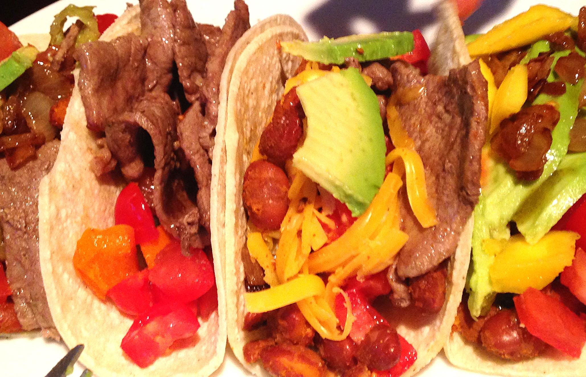 FarmEats sandwich steak taco
