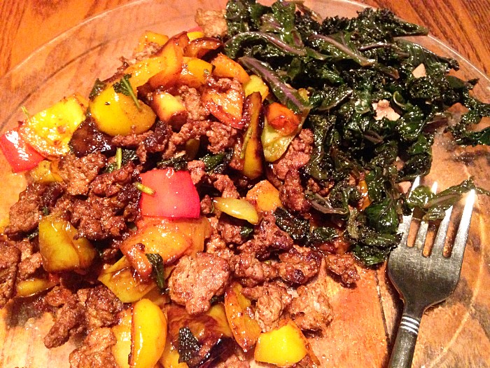 FarmEats Savory Sautéed Beef and Veggie Stir Fry!