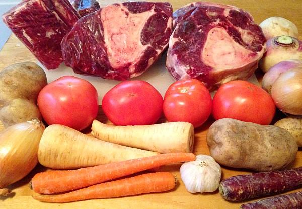 FarmEats grass fed beef ossobuco