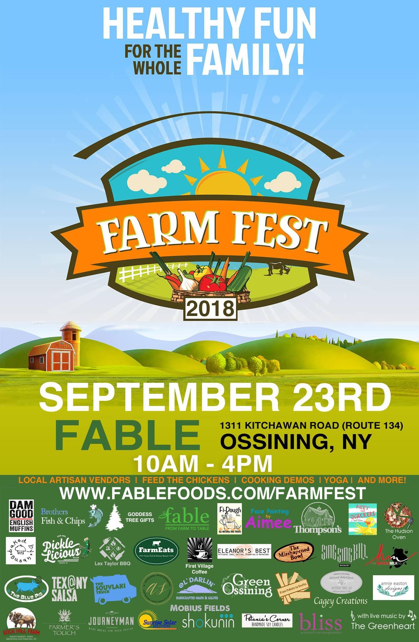 Farm Fest Flyer September