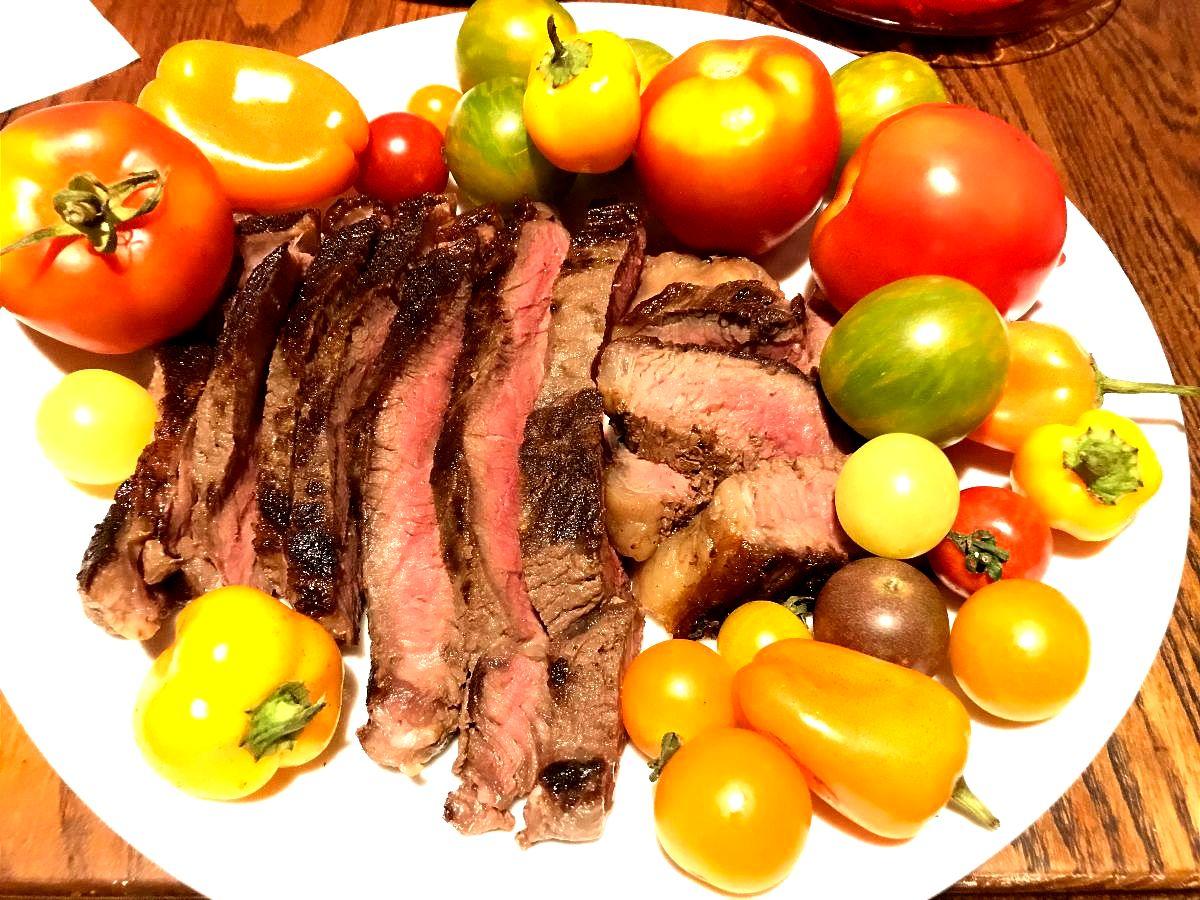 FarmEats Grass Fed Beef Burgers