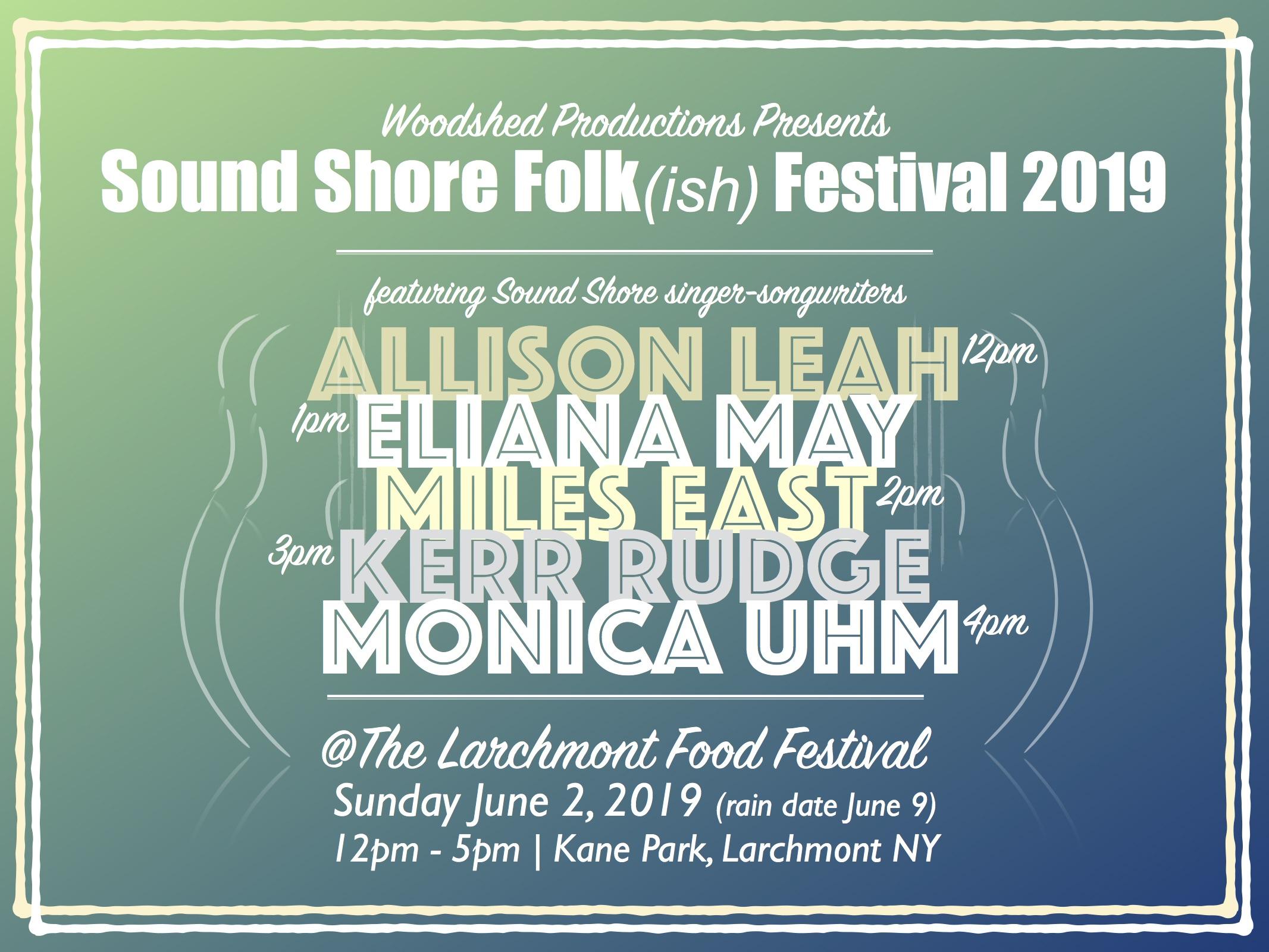 Sound Shore Folk(ish) Festival 2019