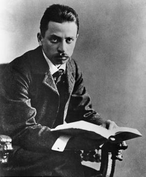 Image of Rilke courtesy of Wiki Commons.
