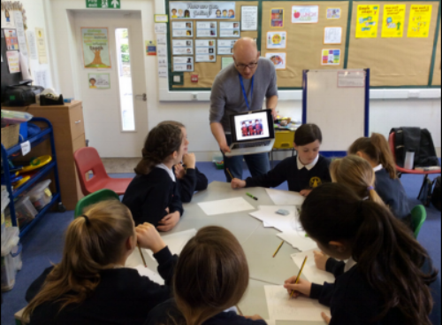 Creative Writing session, Years 5-6