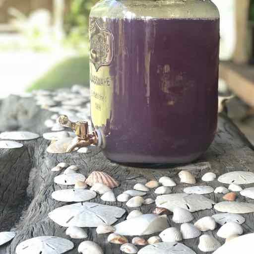 sem residuos - fazemos farinha com as fibras, kefir com a agua e compostagem o decorativos com as cascas que sobrem