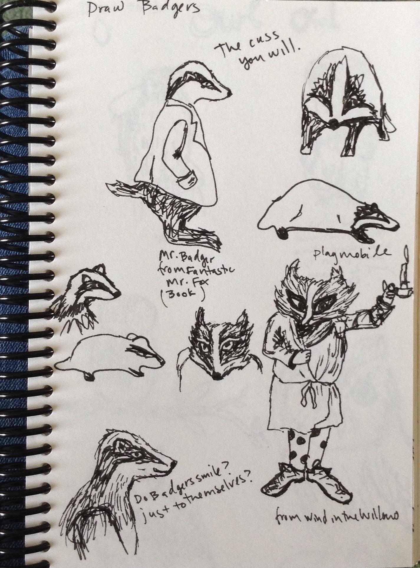 sketch book study