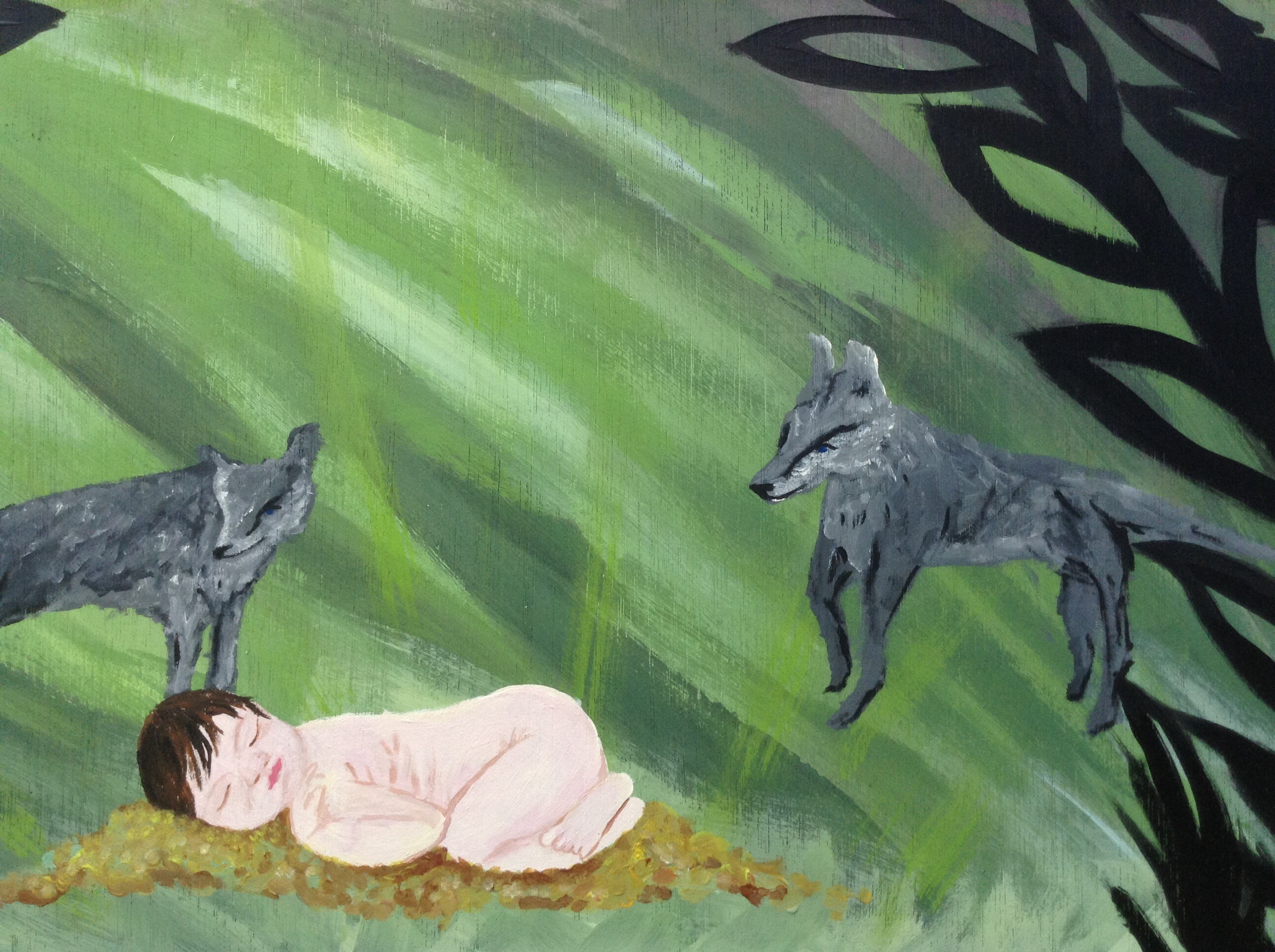 raised by wolves (in process)