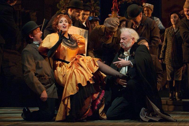 Production: LA BOHEME - Seattle Opera   Date: February 2013   Chorus HMUA | Bek Harvey