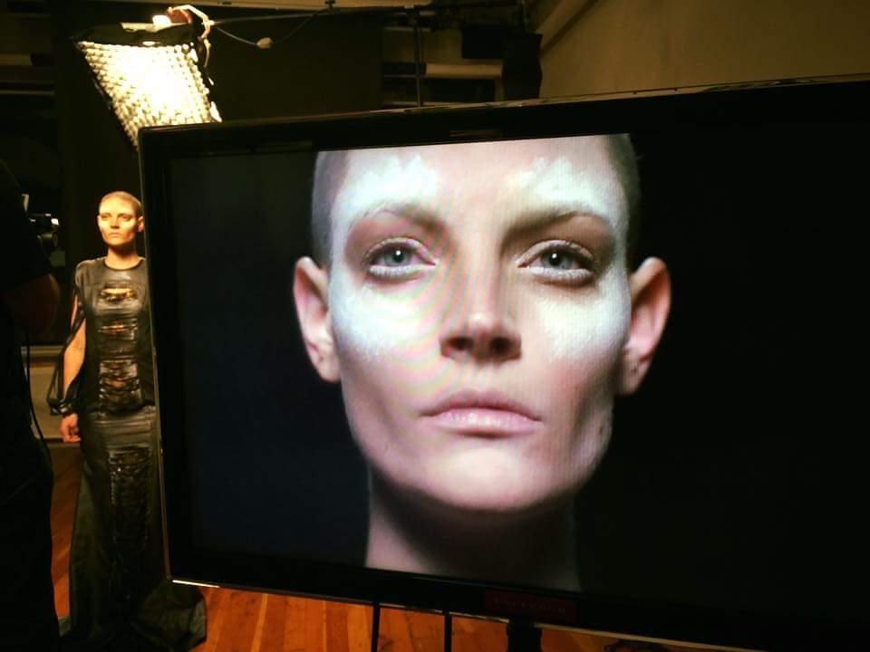 BTS of makeup - shooting #video for #Elephantasia #2016 #fashion for #elephants  #bts  Producer: Renee Eddy  Director: Branson Veal Art Director: Ava j Holmes MUA by: Me / Bek Harvey @bekharvey  Model | Kimbe London