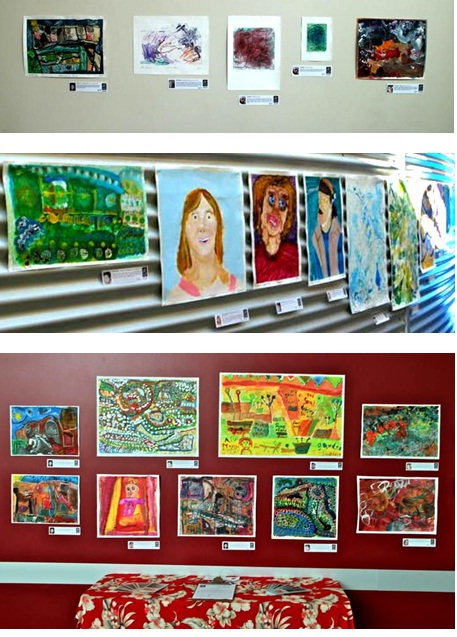 Selection of work from TAPAC exhibition