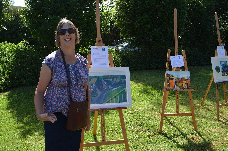 Allyson Hamblett and her work