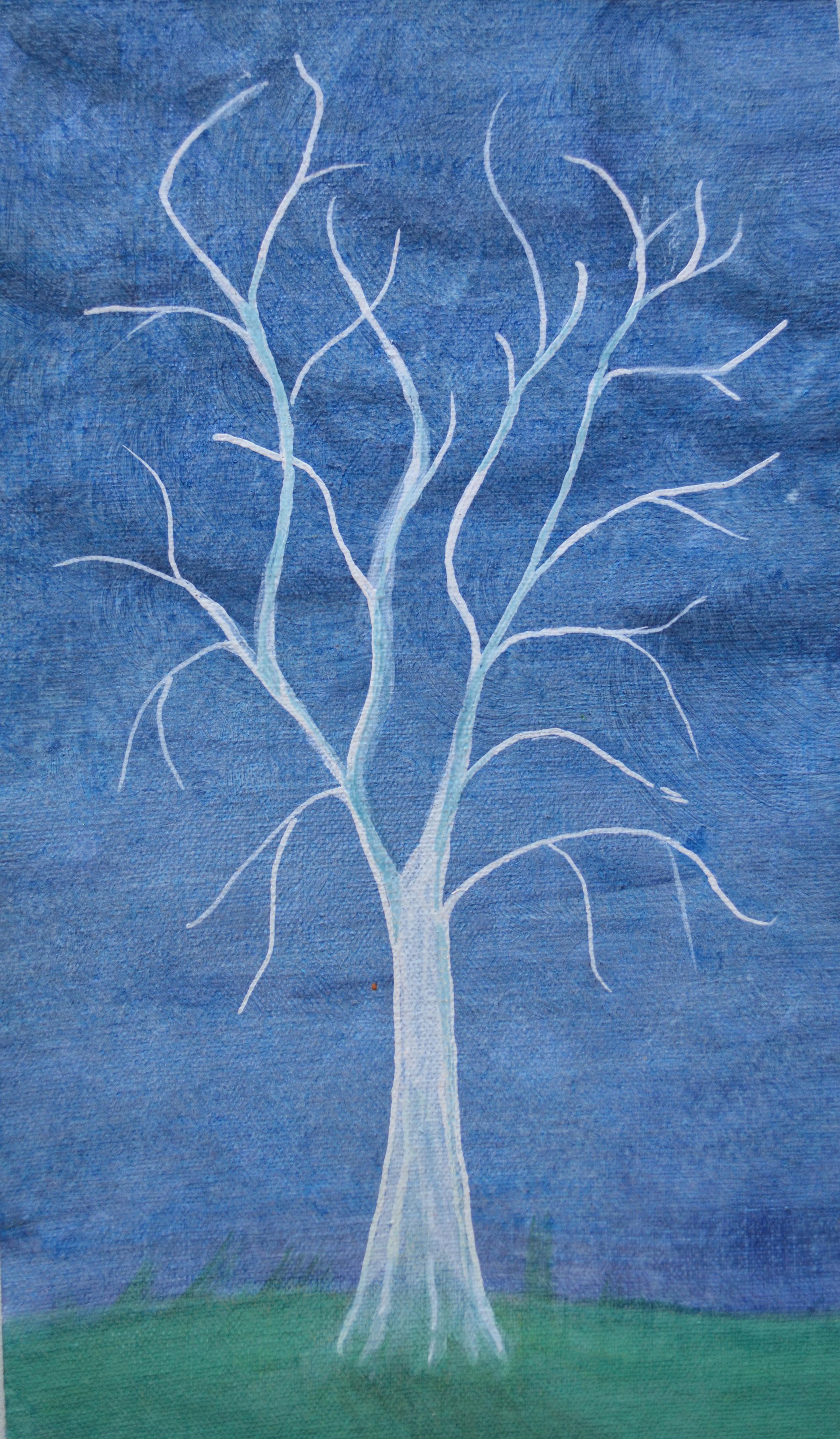 Jean Wilson, Ghost Tree, 2015