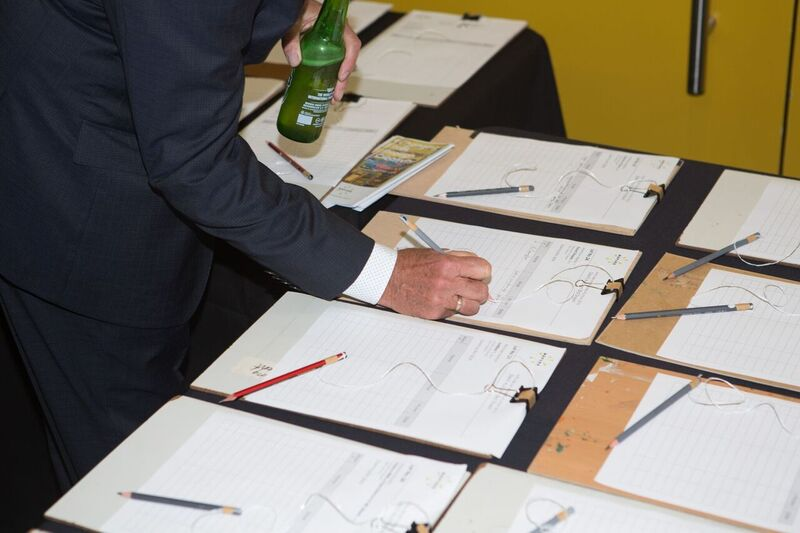 Bidding Sheets on the night