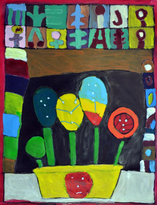 Athol Crosby  Flower Pot,  2017
