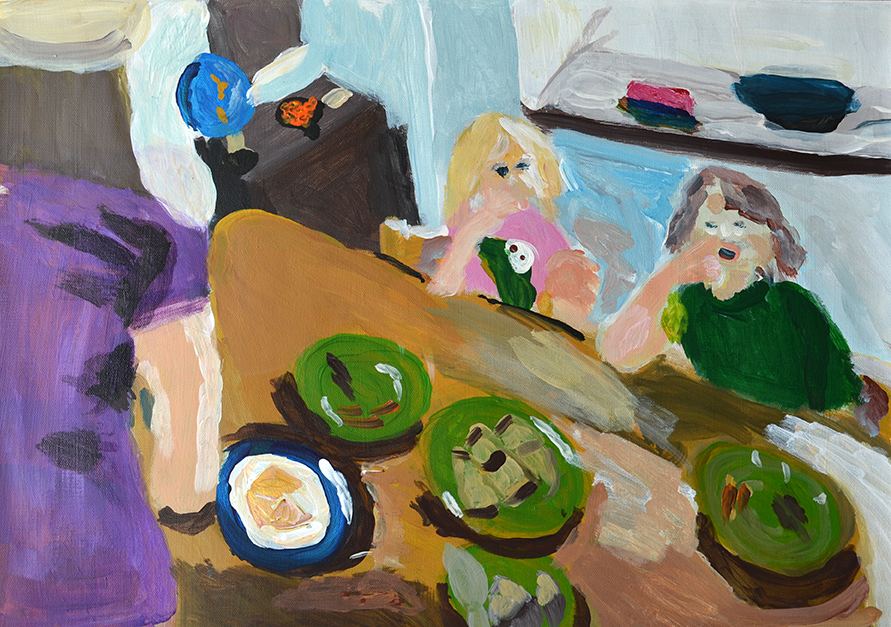 Allyson Hamblett - Breakfast at Middle Cottage web.jpg