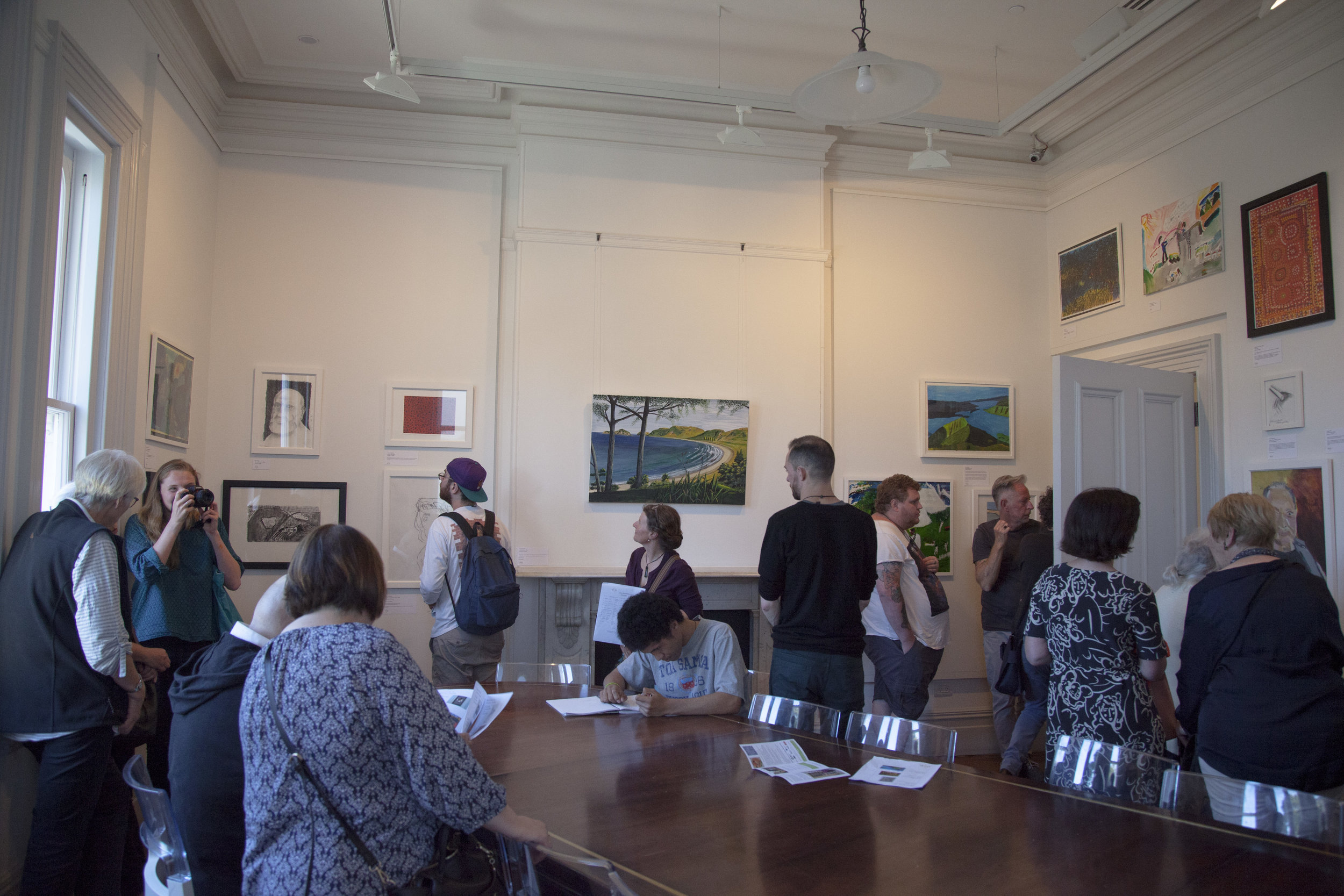 Mapura Exhibition in the Boardroom