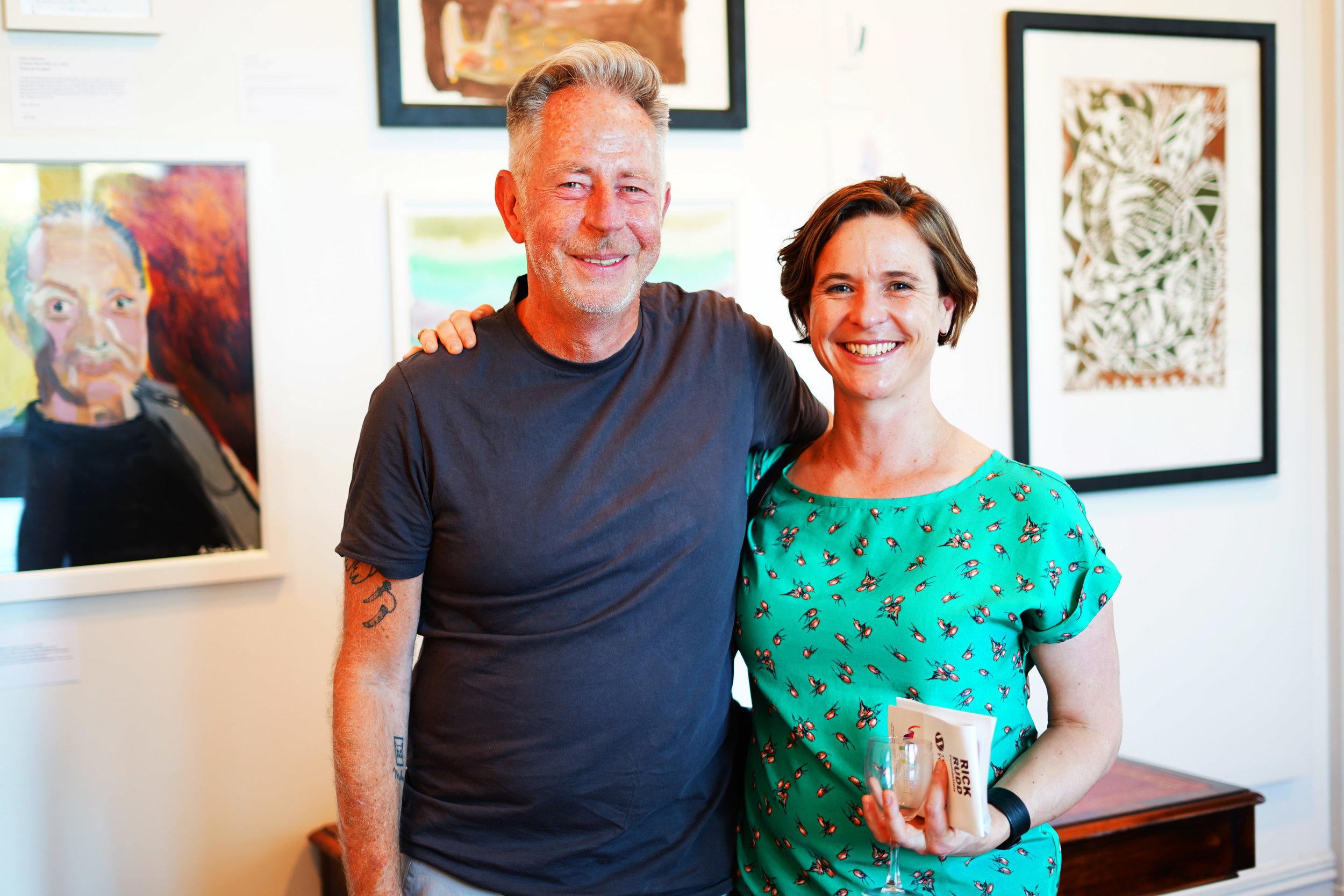 John Ferris & Anna Rae Mapura Board