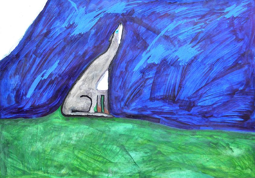 Brandon Hosken - Lone Wolf Howling web.jpg